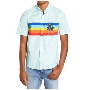 CHUBBIES Sunsetter Stripe Short Sleeve Shirt